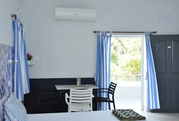 AC Guest House 1000 to 2000 in Pondicherry